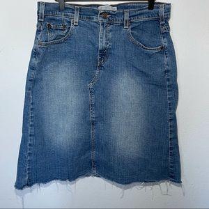 Levis Denim Skirt